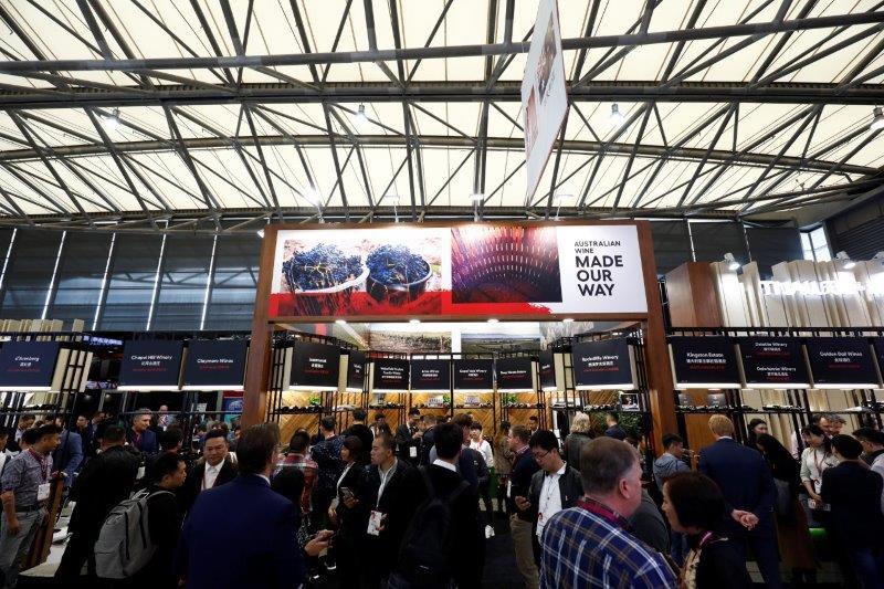 超强澳大利亚葡萄酒国家展团亮相2019 ProWine China展会